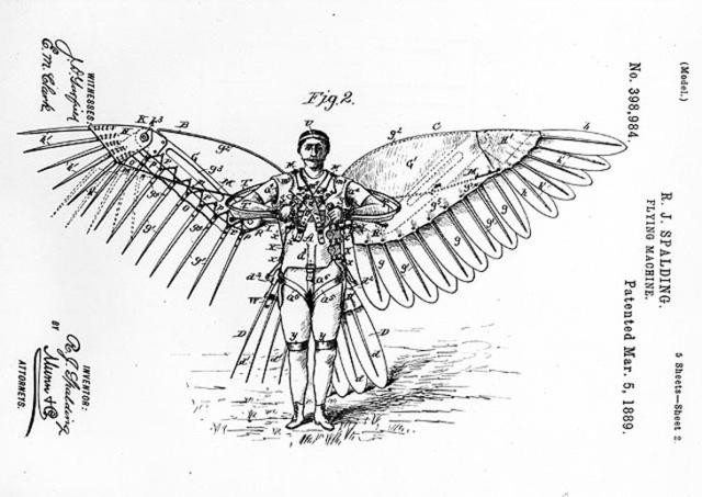 Как сделать крылья для человека 385